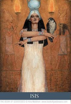 Egyptian Goddess of Love and Beauty.