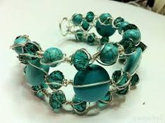 Image result for wire bead dangle ring