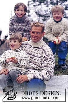 DROPS Mens's Turtleneck sweater in Alaska Knitting Patterns Free, Free Knitting, Free Pattern, Alaska, Magazine Drops, Drops Design, Pulls, Animals And Pets, Sweaters For Women