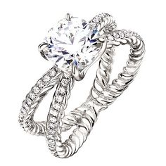 Loved this for a long time: engagement ring by David Yurman