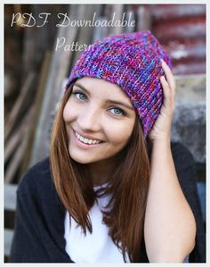 c69083e8a81 KNITTING PATTERN - Ivy Beanie by TheWoollyWardrobe on Etsy The Wooly