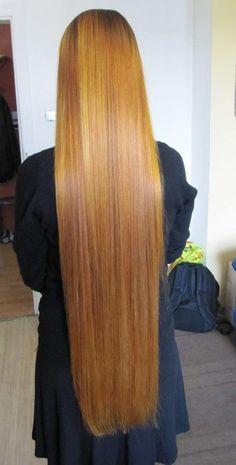 siky long hair with color