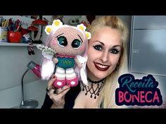 Receita Boneca Amigurumi - Crochet Doll