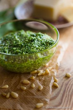 Wild Garlic, Pesto, Guacamole, Food Inspiration, Salad, Ethnic Recipes, Drink, Blog, Spreads