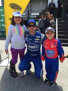 We love our fans! Jimmie and his young fans at Richmond.