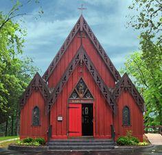 Église épiscopale Saint-Jean-Chrysostome – Delafield, Wisconsin (USA) – Crédit Photo : James Steakley – Licence CC BY-SA 3.0