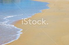 Just Sea and Sand Royalty Free Stock Photo