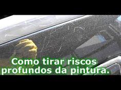 Faça você mesmo: Como Tirar Riscos Profundos da Pintura do Carro com Polimento Manual - YouTube