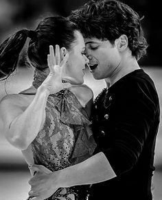 Full credits to owner Virtue And Moir, Tessa Virtue Scott Moir, Ice Skating, Figure Skating, Love On Ice, Ade, Tessa And Scott, Dancing Baby, Ice Dance
