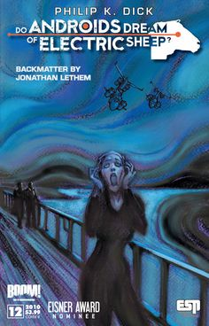 Munch's The Scream, used as  cover for Philip K. Dick's Do Androids Dream of Electric Sheep? (aka Blade Runner)