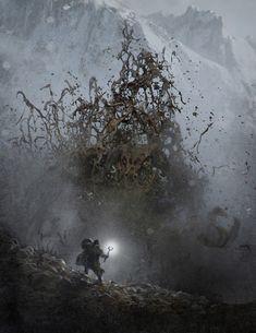 Fall of Gods Concept Art Thor Art