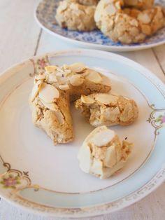 paleo greek almond biscuits