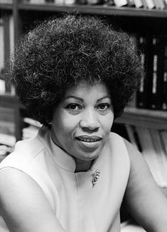 Toni Morrison, one of the greatest American novelists of our time. Read her!