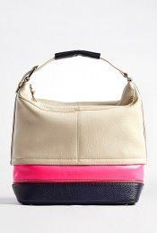 Diane von Furstenberg multicoloured mandy leather combo hobo.  D Fashion  Outlet 288c63467528b