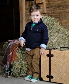 why hello future child haha love preppy kids! Toddler Boy Fashion, Toddler Boys, Baby Kids, Kids Fashion, Man Fashion, Cute Kids, Cute Babies, Baby Boy Outfits, Kids Outfits