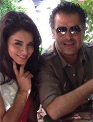 RAGHEB ALAMA AND MISS USA RIMA FAKIH TO HOST A TV SHOW ON LBC – APRIL 2014 #RaghebAlama #USA #LBC #TV #RimaFakih