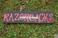 """I love the way """"Razorbacks"""" is written."""