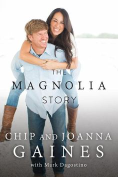 If you love the HGTV hit show Fixer Upper staring everyone's favorite couple Chip and Joanna Gaines, then you will love reading The Magnolia Story. Chip Gaines, Chip Y Joanna Gaines, Joanne Gaines, Jojo Gaines, Magnolia Joanna Gaines, Magnolia Market, Magnolia Farms, Magnolia Homes, New Books