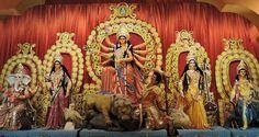 Ekdalia Evergreen Club Durga Puja 2014  #durgapuja #kolkata #aboutkolkata