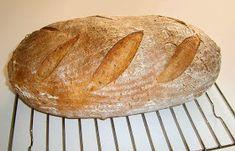 motýlia :) vareška: Pivňák (kváskový chlieb) Bread, Food, Brot, Essen, Baking, Meals, Breads, Buns, Yemek