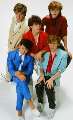 Duran Duran- Yes, leather pants go why EVERYTHING! Why do you ask?