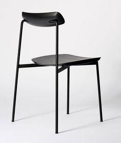 Tom Fereday bases minimal chair on industrial factory seating