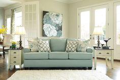 Grey Walls Living Room, Ottoman In Living Room, Living Room Green, Home Living Room, Living Room Decor, Family Room Colors, Living Room Colors, Sunroom Furniture, Living Room Furniture