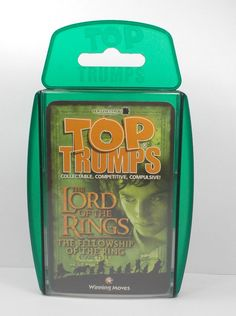 Top Trumps - Lord of the Rings Complete Set 30 Cards + Title Card + 2 Promo (1)