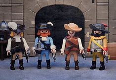 Playmobil Custom The Three Musketeers The Three Musketeers, Napoleon, Geeks, Medieval, Hipster, Fun, Products, Action Figures, Dioramas