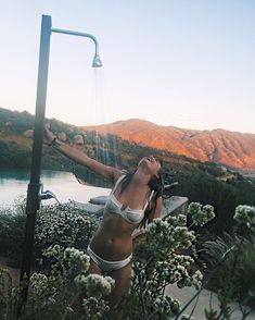 outdoor shower dreams