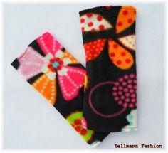 +Armstulpen++Pulswärmer+Armstulpen+Blumen+bunt+von+Zellmann+Fashion+auf+DaWanda.com