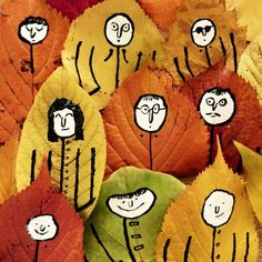 carnetimaginaire.tumbler.com   Jean Jullien, Autumn weather, snuggly coats