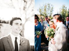 wedding groom's face as bride walks down aisle photos | ... wedding! (the first half anyway…come back for part II next