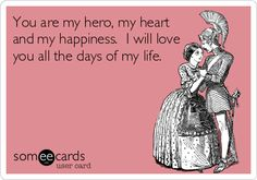 You are my hero, my heart and my happiness. I will love you all the days of my life. To my dear husband, Rodger