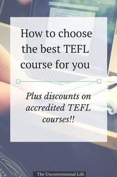 Step 3 in the series - Decide to Teach English Abroad! This post is all about getting TEFL/TESOL certified. It breaks down the kinds of courses and how to choose a legitimate course. Plus offers a list of legitimate courses to sign up for!