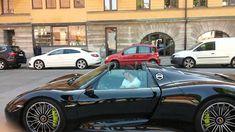 Zlatan Ibrahimovic Porsche 918