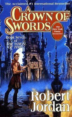Título: A Crown of Swords Autor: Robert Jordan Publicação: 15 de maio de 1996 Número de páginas: 855 páginas Editora: Tor Books ISBN: 9780812550283 Master of the lightnings, rider on the storm, wea...