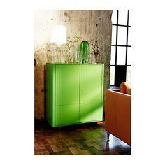 STOCKHOLM Armário c/2 gavetas - verde - IKEA