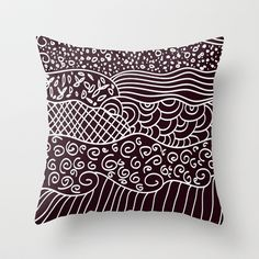 different shapes Throw Pillow by aticnomar - $20.00 Different Shapes, Throw Pillows, Toss Pillows, Cushions, Decorative Pillows, Decor Pillows, Scatter Cushions