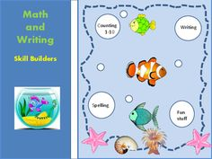 Need to practice WRITING and COUNTING with a touch of fun stuff- then this 18 page collection is for you! Contents:6 coloring pages How many fish?  Count & circle 1-5How many fish? Count & write 1-5Which set has the most? Count & compare 1-8Which set has the least?