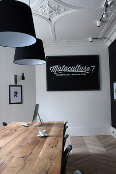 black furniture/fixtures as an accept would work well with our brand