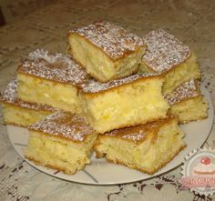 Nagyon egyszerű, gyors és finom sütemény! My Recipes, Sweet Recipes, Cake Recipes, Dessert Recipes, Cooking Recipes, Favorite Recipes, Hungarian Desserts, Hungarian Recipes, Austrian Recipes