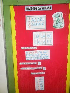 Continuando com nossas sugestões para o trabalho com as letras do alfabeto através dos animais desta vez nosso animalzinho é o JACARÉ.   No...