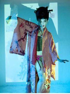 Geisha Inspired Photography | ⓔMORFES