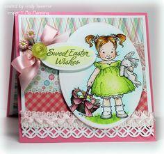 darling Easter card