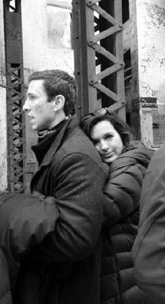 Marisa and Pablo Schreiber (William Lewis). Such an amazing actor!!!! Beauty and the Beast!!!!