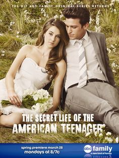 The Secret Life of the American Teenager....ughhh stupid sister...I swore I wouldn't watch this and she got be into it...