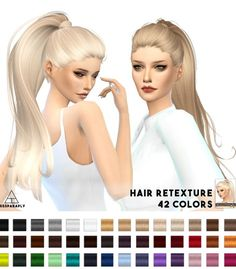 Miss Paraply: Hair retexture - Alesso (CoolSims) Paraguay • Sims 4 Downloads