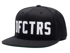DFCTRS Snapback Cap by UNDEFEATED