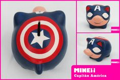 capitan america / captain america | Chanchitos Marranitos Al… | Flickr